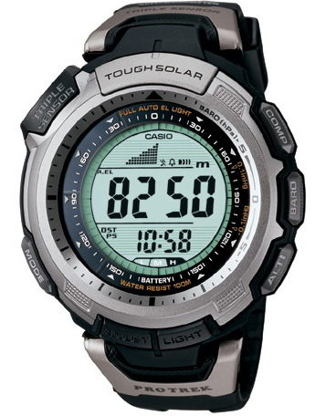 นาฬิกา คาสิโอ Casio PRO TREK SLIM-LINE รุ่น PRG-110-1V