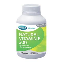 Natural Vitamin E 200 - 100's