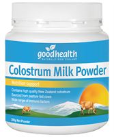 โคลอสตรั้มชนิดผง กู๊ดเฮลธ์ ขนาด 350 Good Health Colostrum milk powder 1 กระปุก