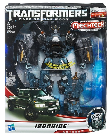 Transformers Dark Of The Moon Leader Class Ironhide [KO] NEW