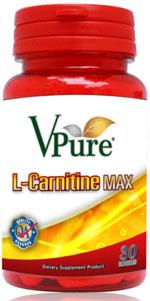 Vpure L-Carnitine MAX 30's+30's สำเนา