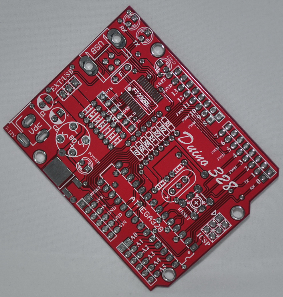 PCB DUINO 328 (Compatible Arduino) Made in thailand