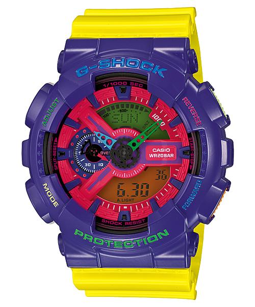นาฬิกา คาสิโอ Casio G-Shock Standard Analog-Digital รุ่น GA-110HC-6A (หายาก)