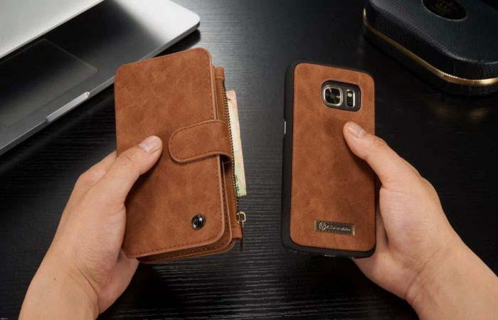 เคส Samsung Galaxy S7 Edge [Wallet]จาก CaseMe [Pre-order]