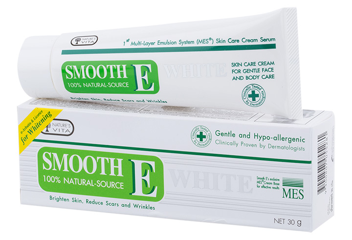 Smooth E Cream White 60g.
