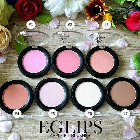 Eglips Apple Fit Blusher 4g.สี #4 Tangerine Coral