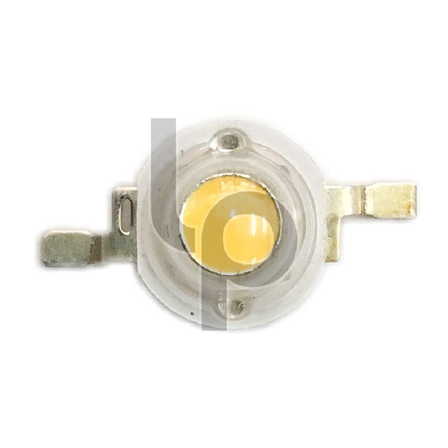 หลอด LED พาร์ สีวอร์มไวท์ 3V 3W 2 ขา