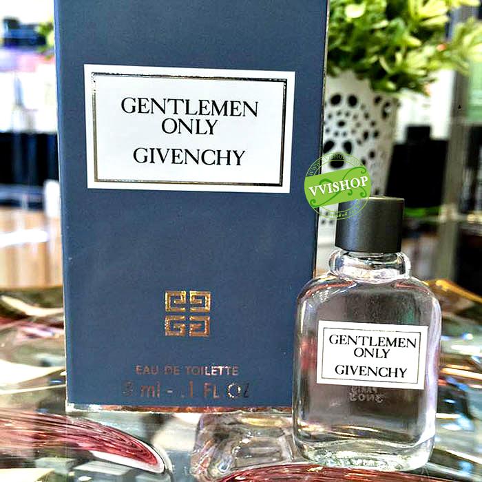 GIVENCHY GentleMen Only 3 ml. น้ำหอมสำหรับสุภาพบุรุษตัวจริง หอมแนวสดชื่น อบอุ่น ออก sport men นิดๆ