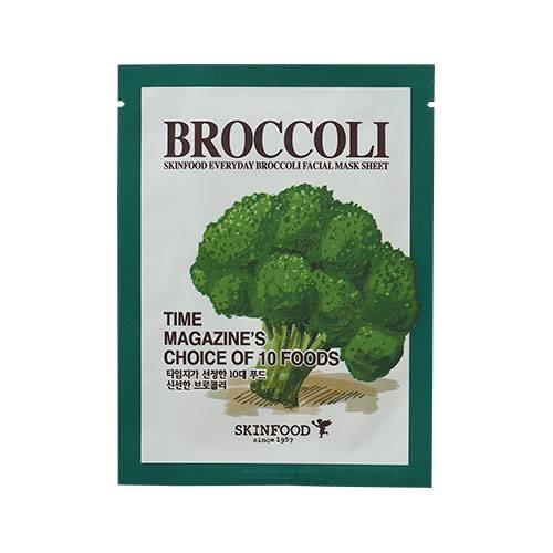 Skinfood Everyday Mask Sheet #BROCCOLI สารสกัดจากบร็อคคอรี่