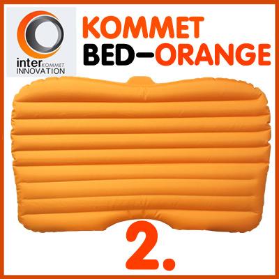 เบาะที่นอนเป่าลมในรถยนต์-สีส้ม