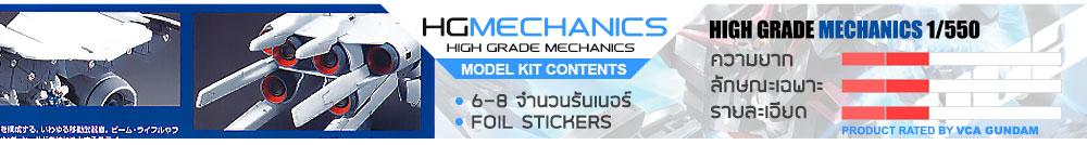 What is HG Mechanics กันดั้ม กันพลา คืออะไร?