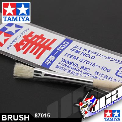 TAMIYA FLAT BRUSH NO.0