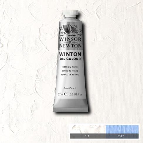 WINTON OIL COLOUR 200 ml. Titanium White 644 (แพ็คคู่)