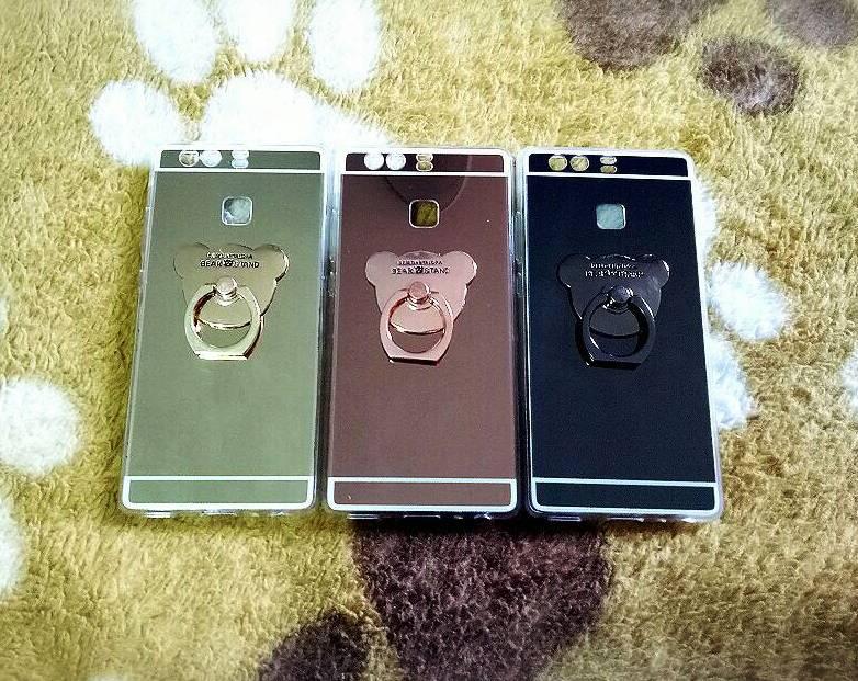 TPU โครเมี่ยมพร้อมแหวน Huawei P9