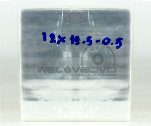 OPP Plastic Bags for CD 12.5 แบบสอดแผ่น (70 PCS)