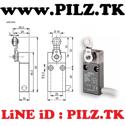 E700-0-EM Bremas ERSCE Limit Switch LiNE iD PILZ.TK