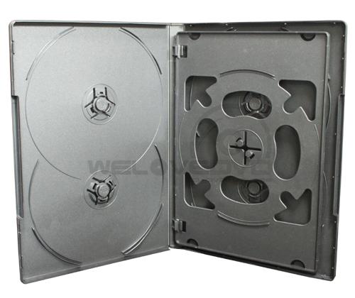 5 Disc DVD Case Black (10 Boxs)