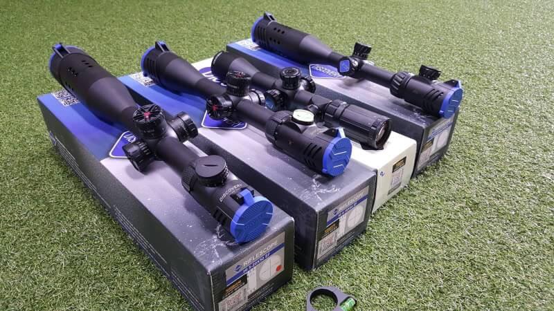 #กล้องScopeDiscovery ✔VT2 3-12×44 SFIR-N ท่อบังแสง ✔VT-Z 3-12×44 AOE ท่อบังแสง ✔ 4-14×44 SF RLIR ✔HI 4-16×44 SFพลายน้ำ ✔HI 5-20×50 SF ภาพโดยรวมของกล้องรุ่นนี้ ✔งาน Taiwan ✔พร้อมท่อบังแสง ✔เส้นคมภาพชั