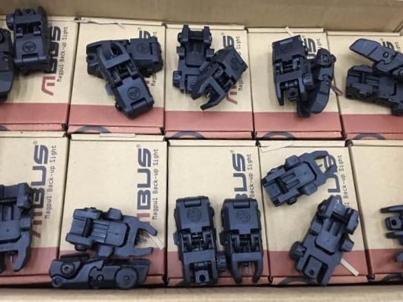 New.MAGPUL Style MBUS Folding Sight Set (BK) ราคาพิเศษ
