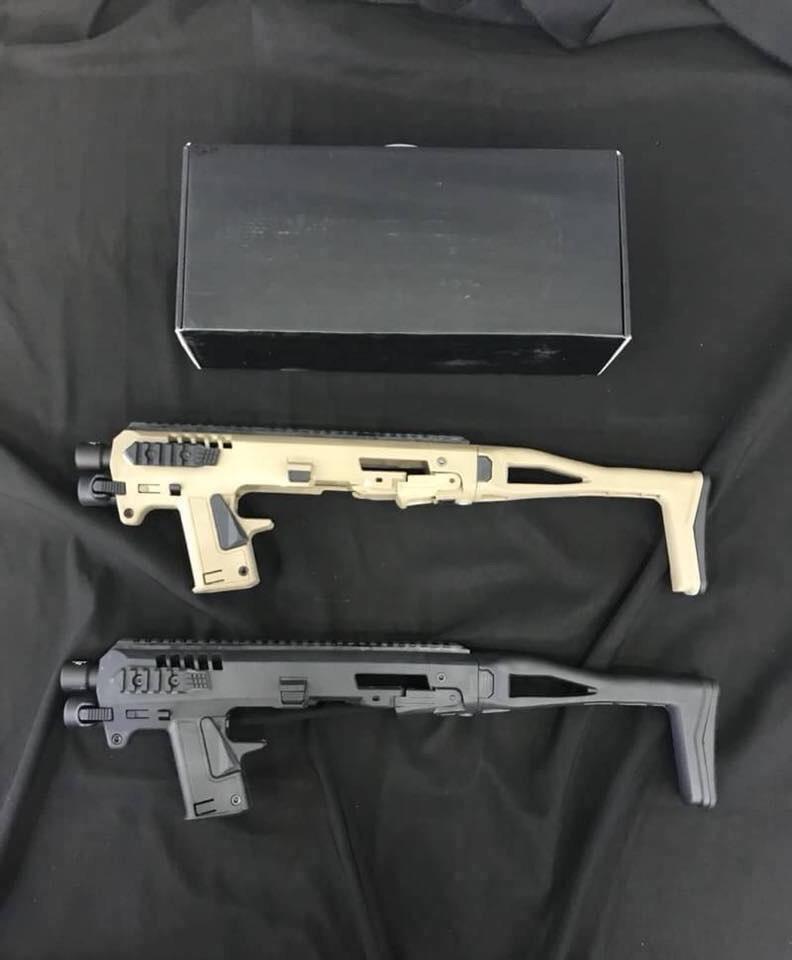 https://youtu.be/4Yf605_41sg New.Micro roni for Glock ชุด advance kit มีไฟฉายมาพร้อม สำหรับ ปืนสั้น GLOCK17 , 19 , 23 , 25 , 32 ราคาพิเศษ ติดต่อสอบถามสั่งซื้อได้ตลอด 24 ชั่วโมง ☎ K บอย 080-5946344 หรือติดตามเราได้ที่แฟนเพจ 〓Line@ :@bkkboy (ใส่ @ ด้