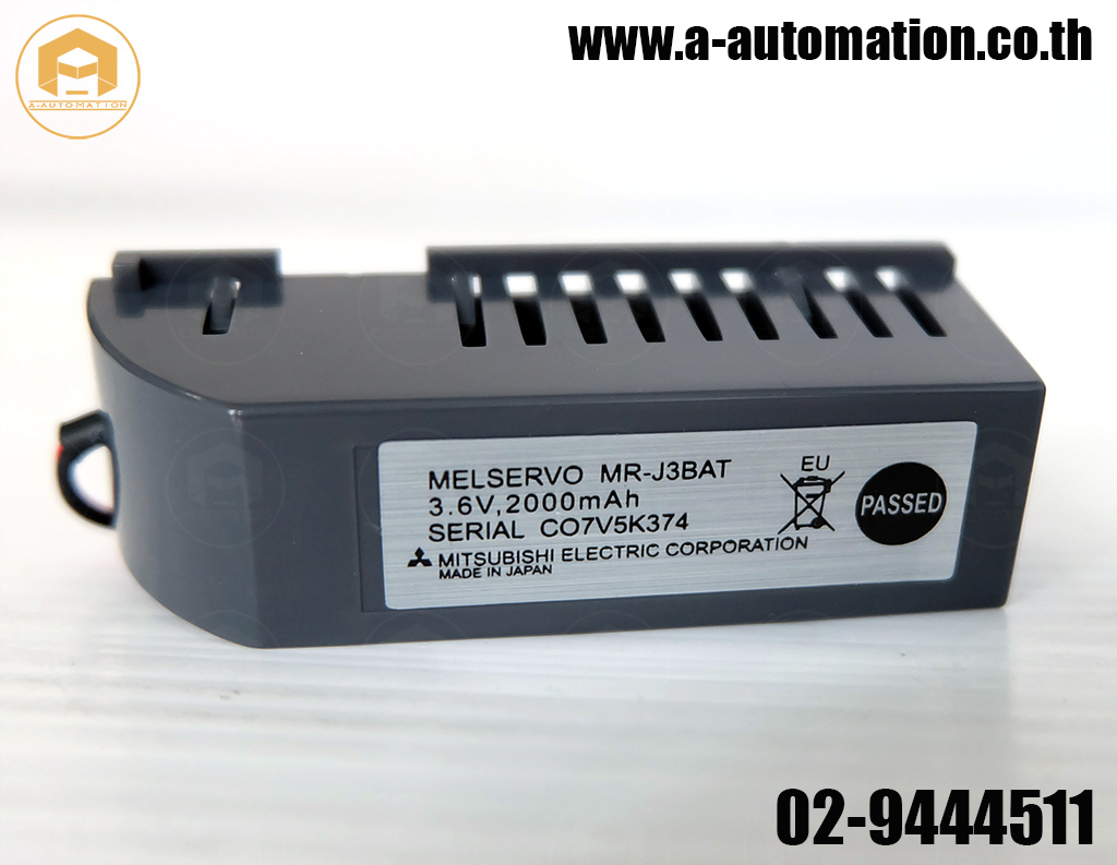 Battery Mitsubishi Model:MR-J3BAT (สินค้าใหม่)