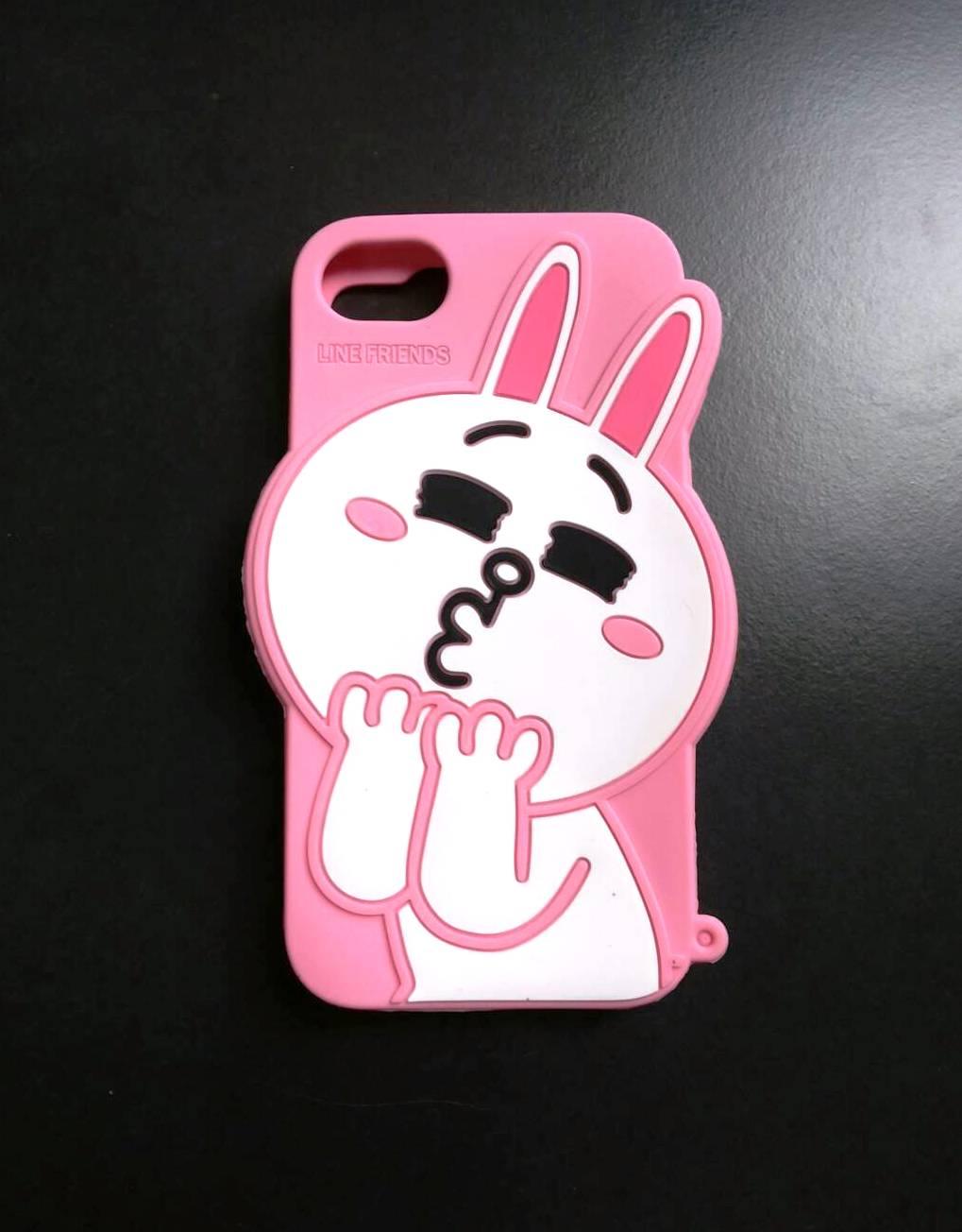 ซิลิโคนLINE (โคนี่) iphone7/iphone8(ใช้เคสตัวเดียวกัน)