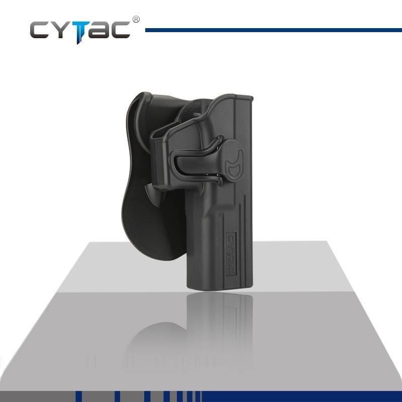 ซองปืน รุ่นR-Defender จากค่าย Cytac ของปืน Glock 17 ปืนรุ่นที่ใส่ได้ Glock 17,22,31 (Gen1-4) ใน1ชุด มีซองปืน