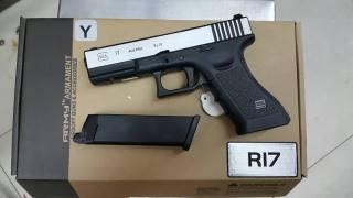 New.Army Glock17 สไลด์เงิน ราคาพิเศษ