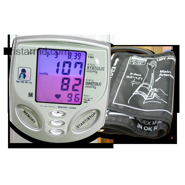 เครื่องวัดความดันโลหิต ยี่ห้อ Health Mate รหัส MEL14
