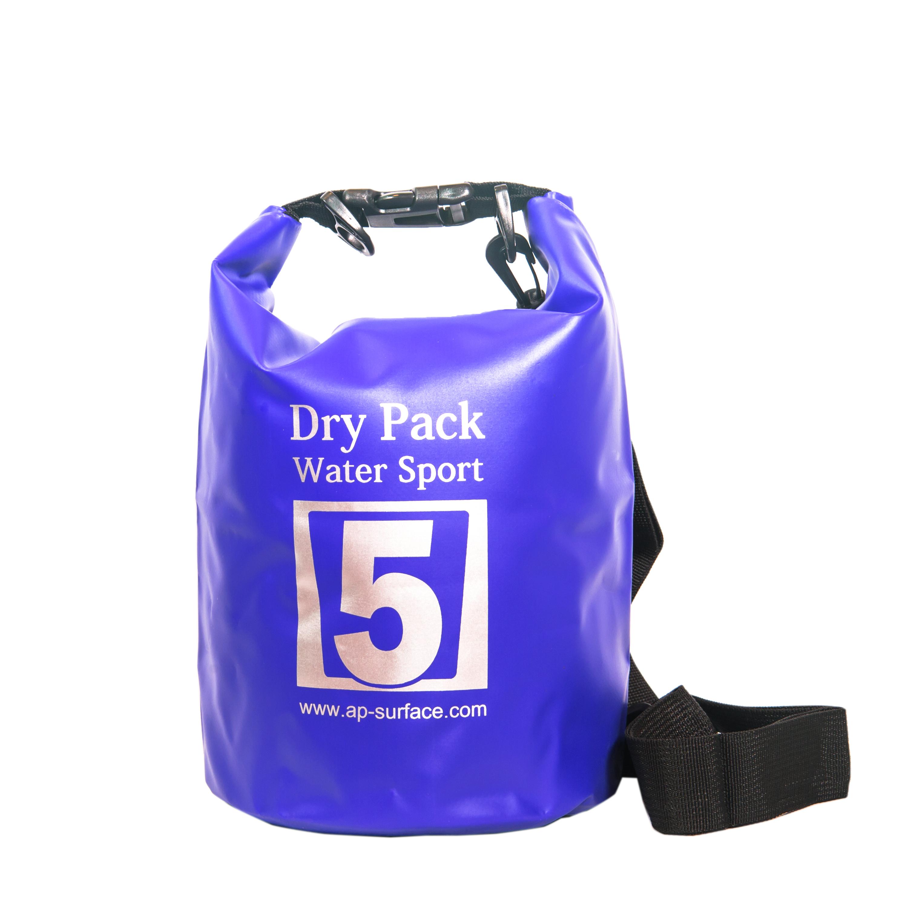 กระเป๋ากันน้ำ Dry pack 5L-สีน้ำเงิน