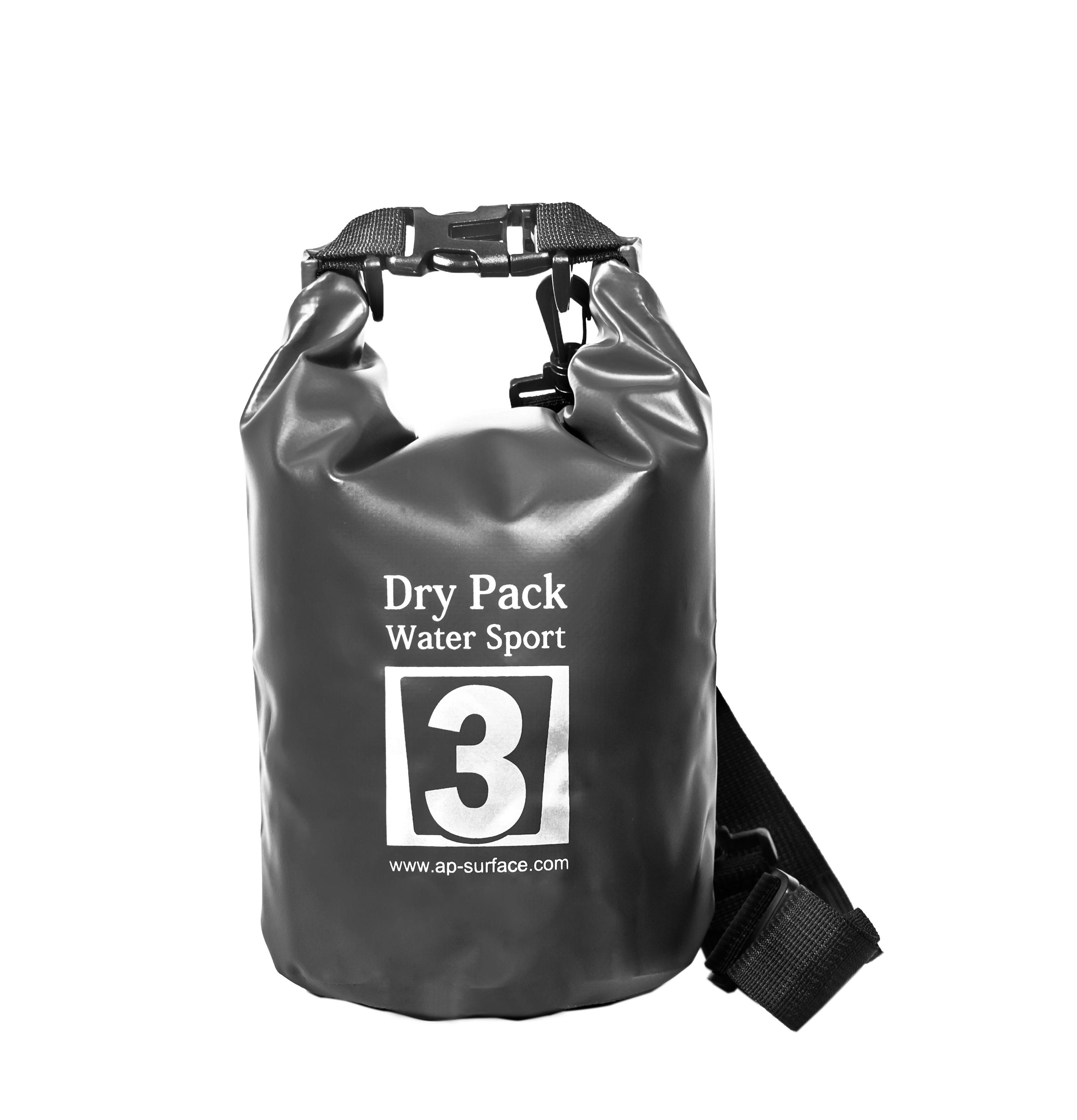 กระเป๋ากันน้ำ Dry pack 3L- สีดำ