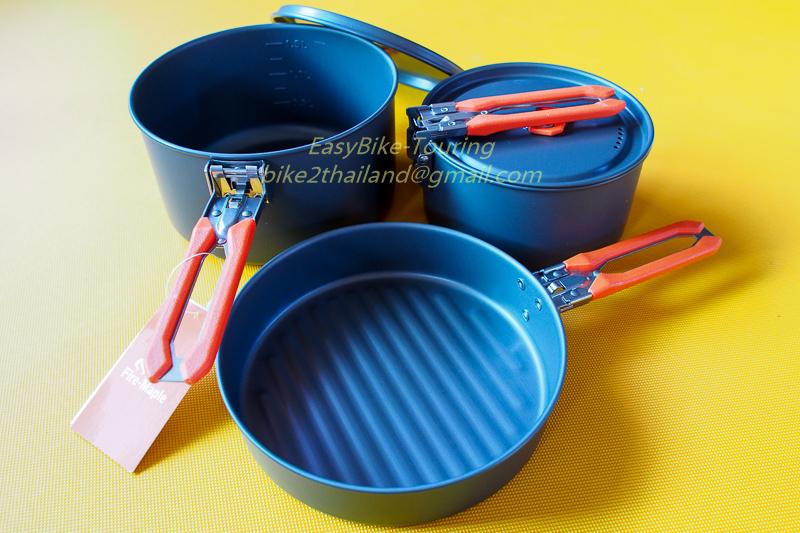 ชุดประกอบอาหาร / Cookware ของ Fire-Maple ชุด Set-03