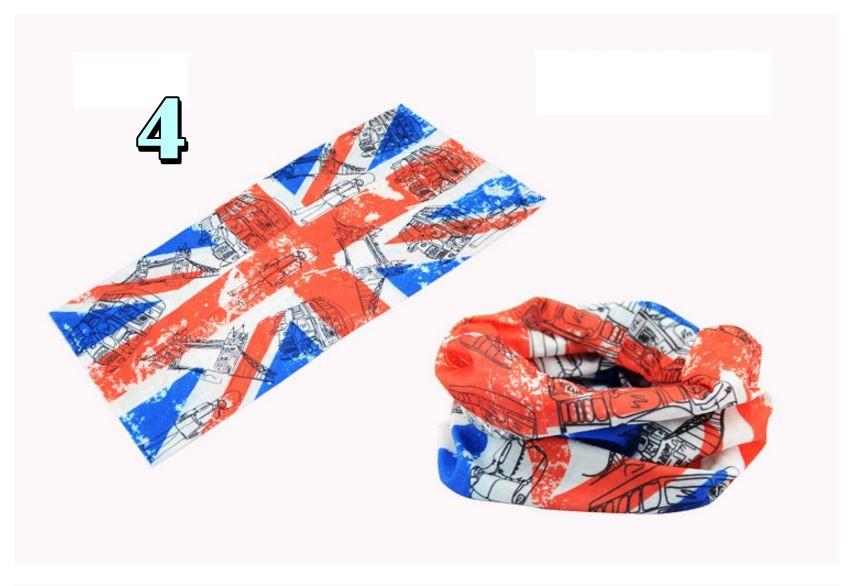 ผ้าบัฟ scarf แบบที่ 4
