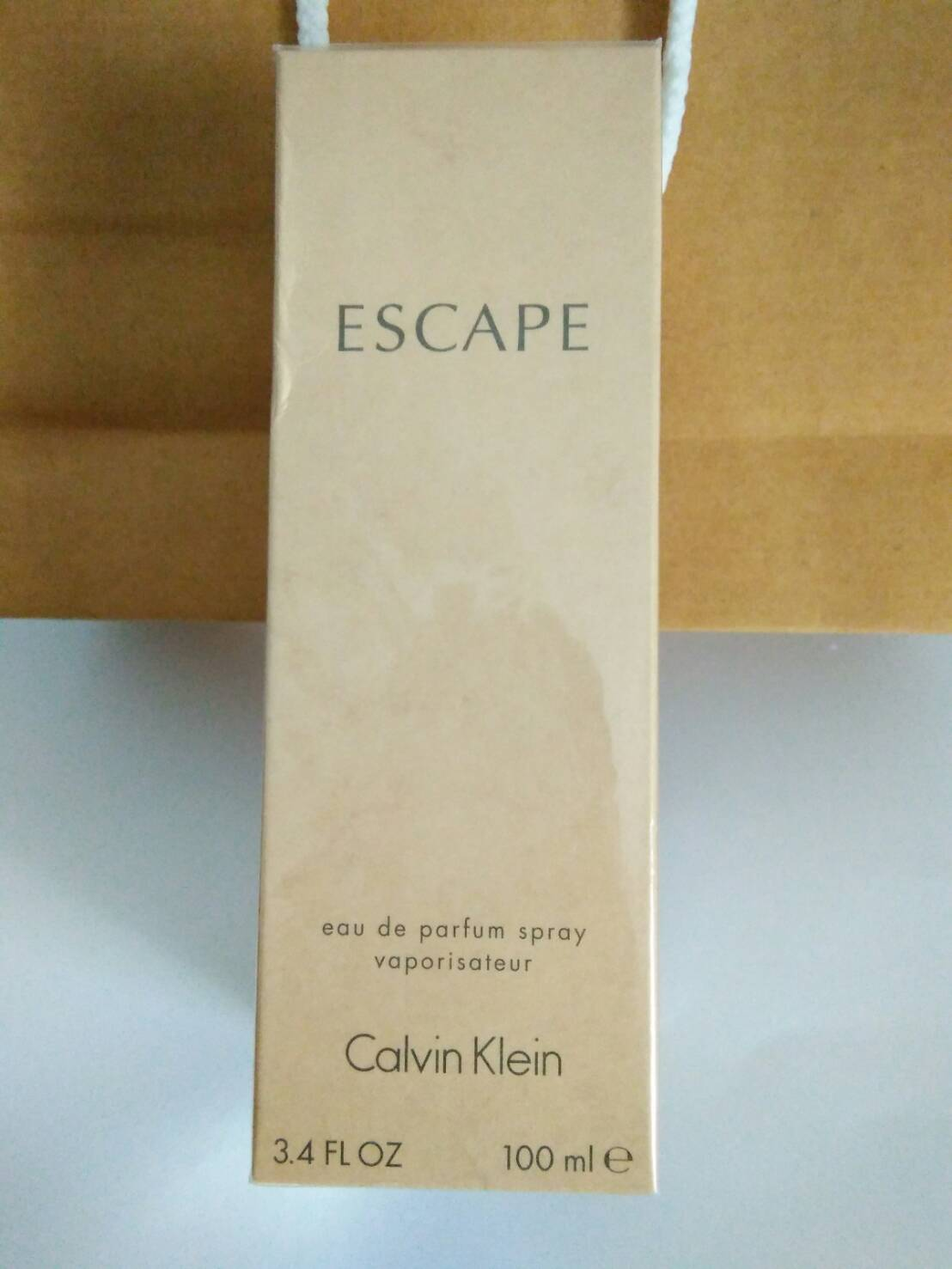 น้ำหอม Escape for women by Calvin Klein 100ml.