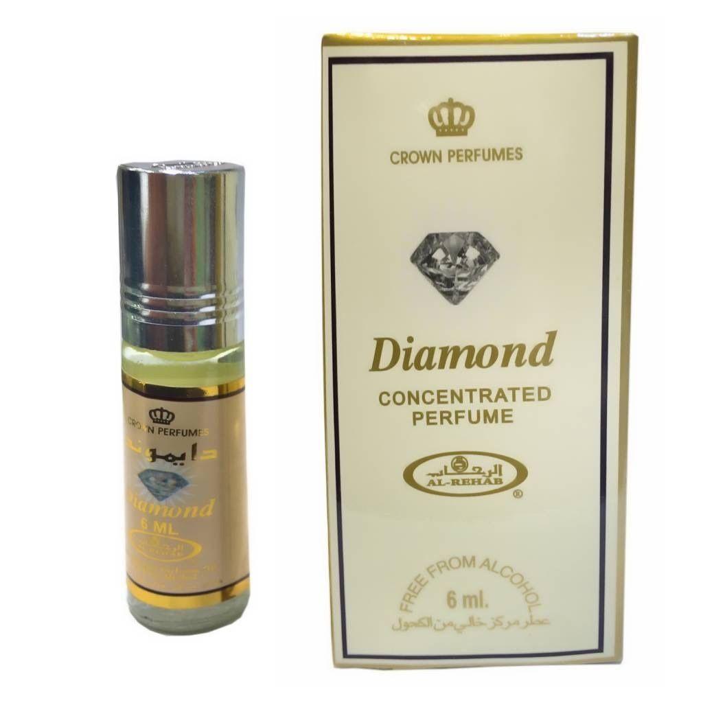 น้ำหอมอาหรับ ไม่มีแอลกอฮอล์ Diamond by Al rehab ขนาด 6ml.
