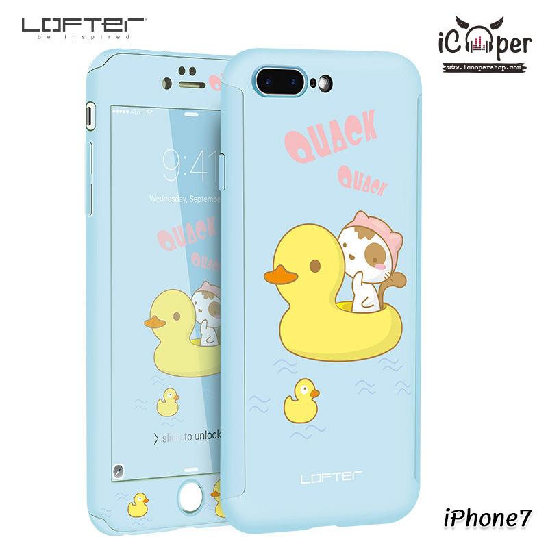 LOFTER Cat Full Cover - Quack Quack (iPhone7)