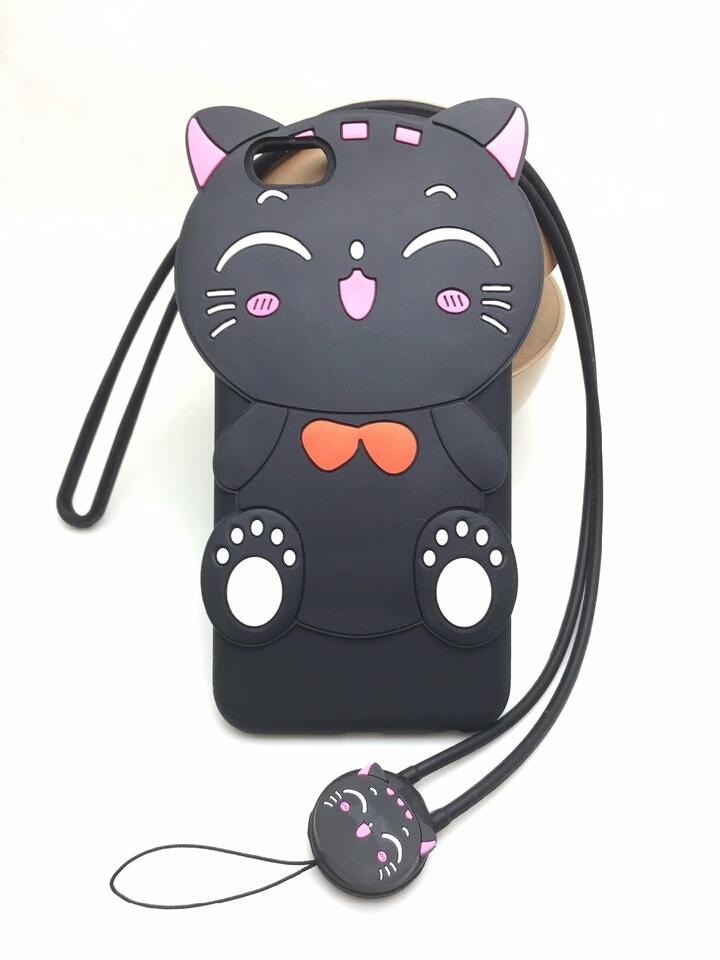 เคส vivo y35 เคสซิลิโคนนิ่มแมวสีดำน่ารัก