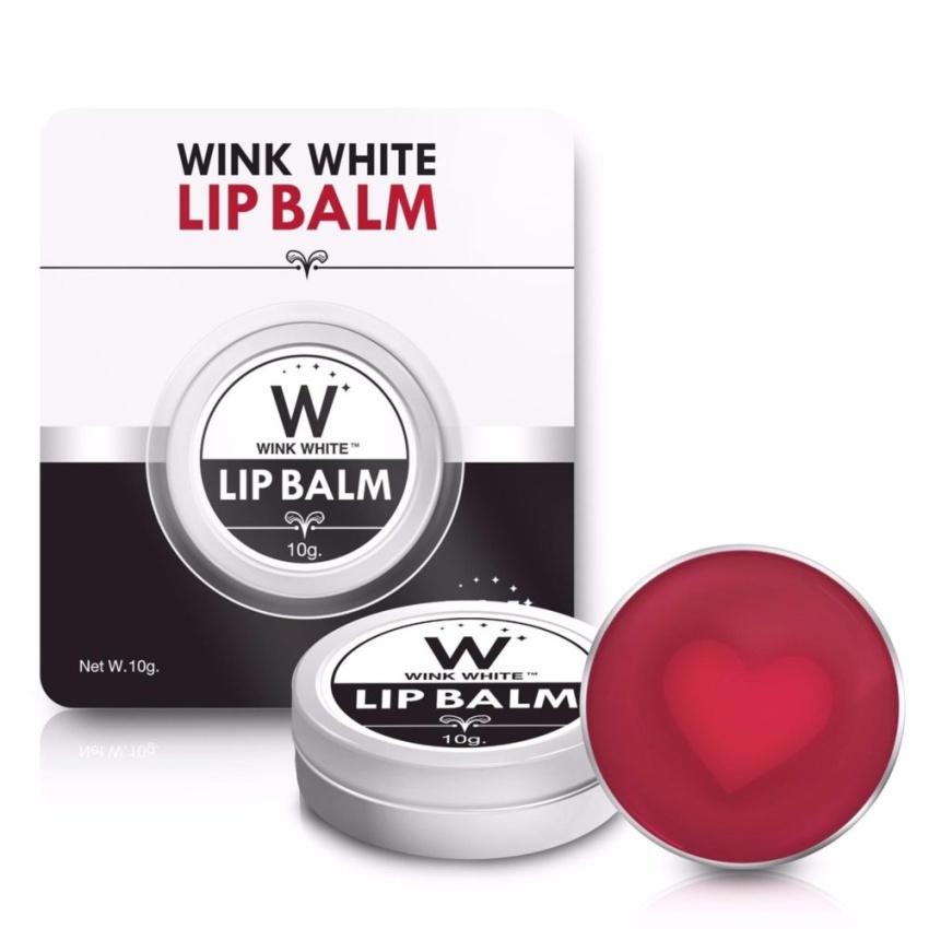 WinkWhite Lip Balm วิงค์ไวท์ ลิปบาล์ม ทาปากอมชมพู