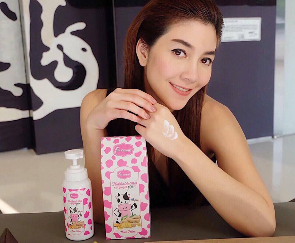 โลชั่นน้ำนมขิง ฮอกไกโด Hokkaido Milk & Ginger Milk Nano Lotion by Faii Cawaii 300 ml.