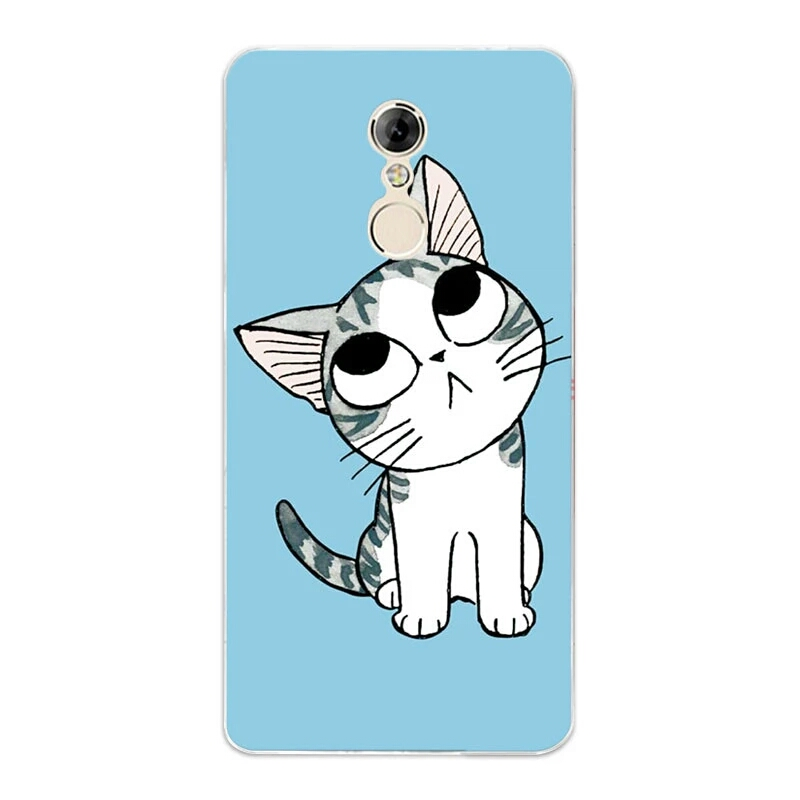 เคส lenovo k6 note วัสดุพลาสติกแมวจี้