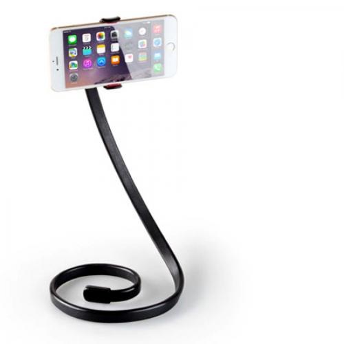 ที่หนีบมือถือ/SmartPhone แบบตั้ง งอ-ม้วนได้ ยาว 1เมตร Phoseat Stand (สีดำ)