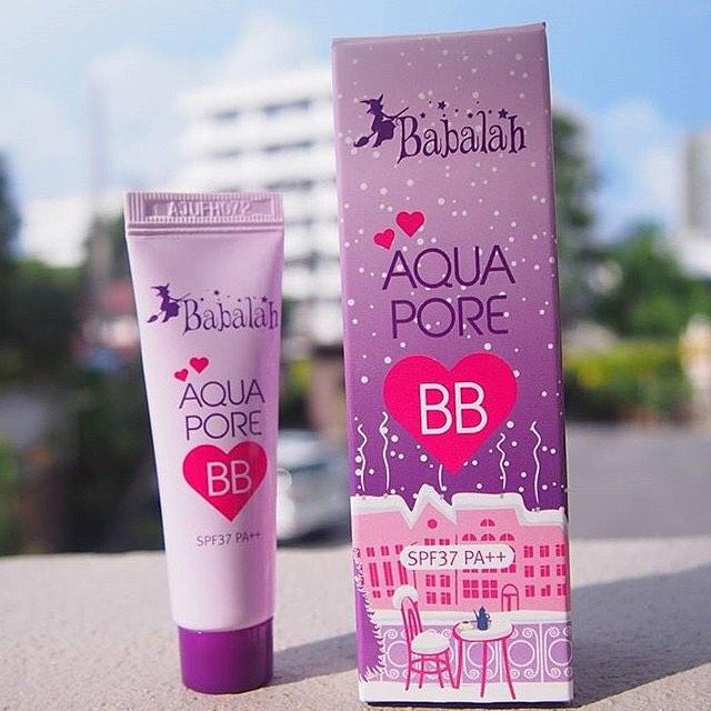 Babalah Aqua Pore BB SPF37 PA+++ ครีมบีบีที่มีเนื้อบางเบา