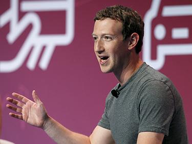 มาร์ค ซัคเกอร์เบิร์ก CEO Facebook