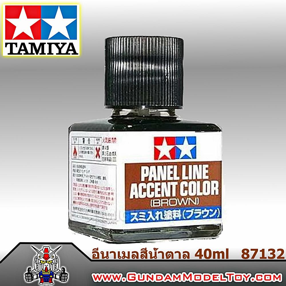 PANEL LINE ACCENT COLOR BROWN พู่กันตัดเส้นชนิดอีนาเมลสีน้ำตาล