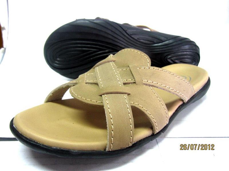 Leather sandal without backstrap (lady)