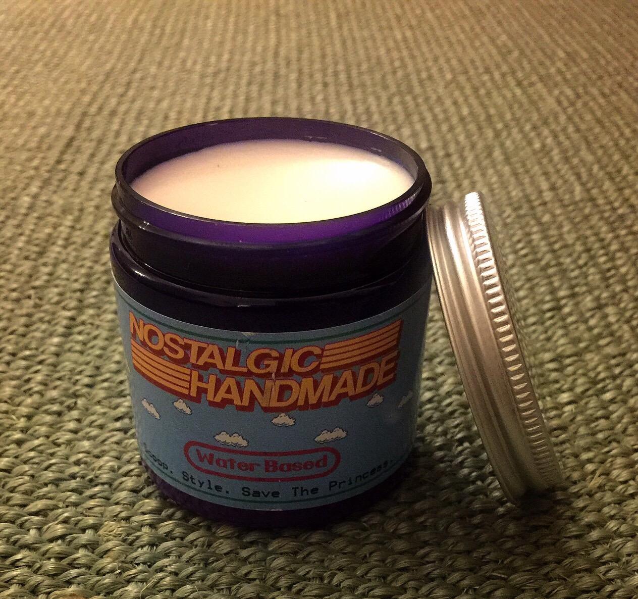 Nostalgic Handmade Unorthodox (Fruit Scoops) Water Based Pomade - 4 oz