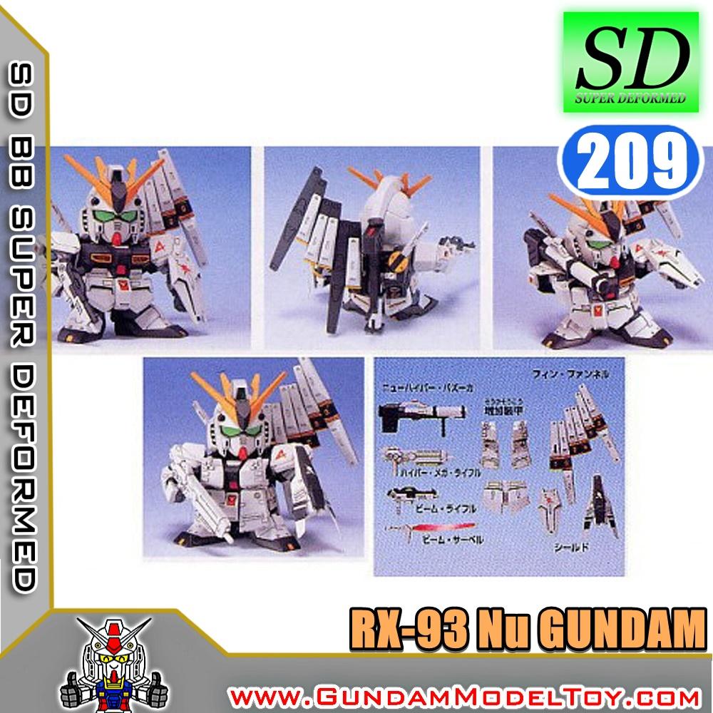 SD BB209 Nu GUNDAM HWS