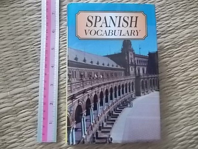 SPANISH Vocabulary Hardback 224 Pages ราคา 150