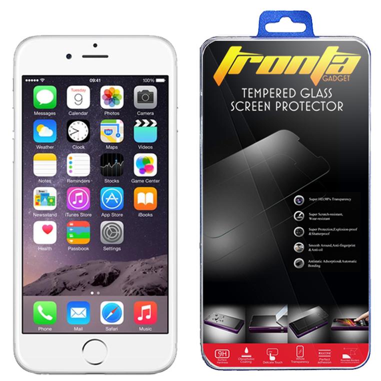 ฟิล์มกระจกนิรภัยกันรอย iPhone 6 plus บาง 0.26มม. 2.5D