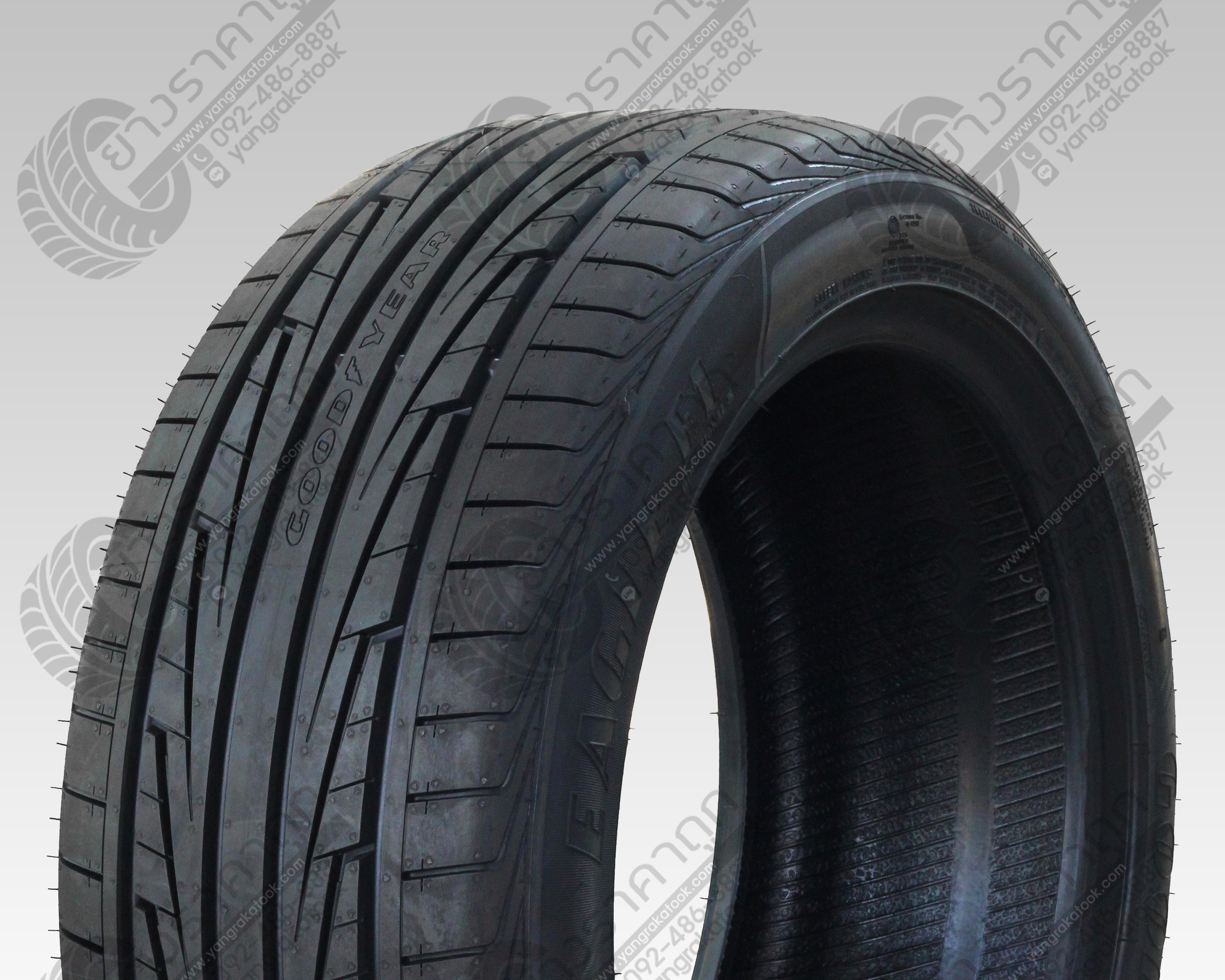 Goodyear F1 Directional 5 195/55R15 ปี17